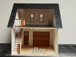 112, 1 Scale Dollhouse Miniature Craftsman One Car Garage/Workshop Kit 0002246