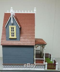 112 1 Scale Miniature Ltl Annabelle Victorian Cott Laser Dollhouse Kit 0001410