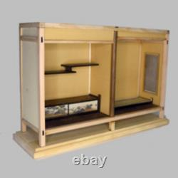 112 Japanese-style Room SET of 3 Doll House Handmade Miniature Kit Wooden A101
