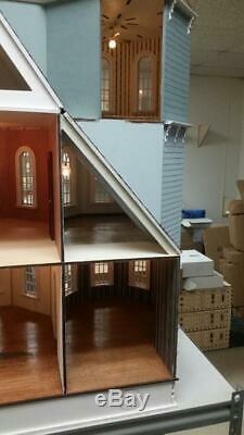 112 Scale (1) Miniature Dollhouse Leon Victorian Gothic Dollhouse Kit Ld02