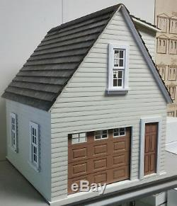 112 Scale Lansdowne 1-Car Garage/Workshop Dollhouse Kit 0001195