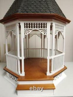 112 Scale Miniature Dollhouse Large Victorian Gazebo 79350