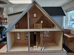 112 Scale Miniature Dollhouse-clarkson Craftsman Cottage Dollhouse Kit-ld04