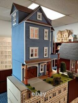112 Scale Miniature Dollhouse-clarkson Craftsman Mansion Dollhouse Kit-979010