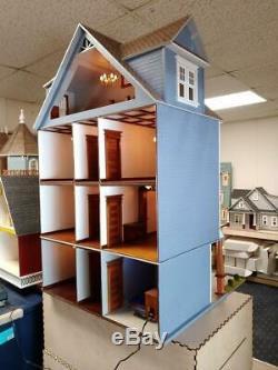 112 Scale Miniature Dollhouse-clarkson Craftsman Mansion Dollhouse Kit-ld03