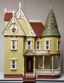 112 Scale Miniature Dollhouse-mirabella Victorian Mansion Dollhouse Kit-800130