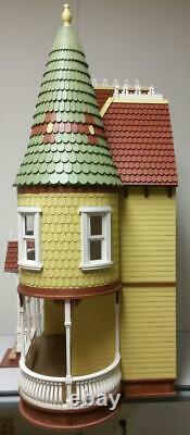 112 Scale Miniature Dollhouse-mirabella Victorian Mansion Dollhouse Kit-ld05
