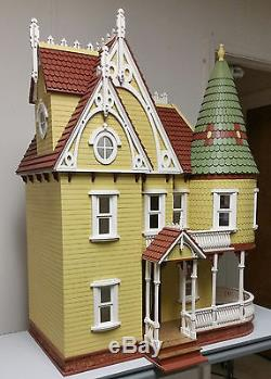 112 Scale Mirabella Victorian Mansion Dollhouse Kit 0001247
