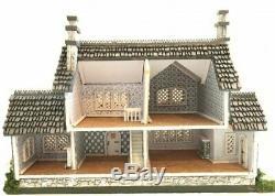 1144 Scale Miniature Storybook Harper Grace Tudor Dollhouse Kit 0002104