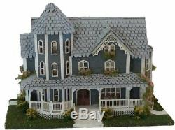 1144 Scale St Beckham Gothic Victorian Miniature Dollhouse Kit 0002295