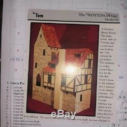 124 1/2 HALF scale Nottingham dollhouse doll house medieval tudor castle kit