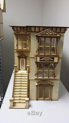 124 1/2 Scale Miniature Lisa San Francisco Painted Lady Dollhouse Kit 0000371