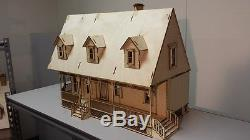 124 Scale Alisha Country Dollhouse Kit 000380