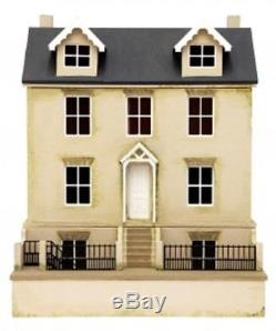 124 Scale Dolls House Willow Cottage & Basement Kit MDF Flat Pack
