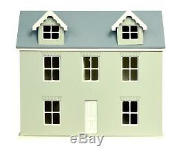 124 Scale Dolls House Willow Cottage Kit Ready to Assemble Unpainted Flat Pack
