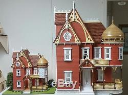124 Scale Hannah Victorian Mansion Dollhouse Kit 0001315