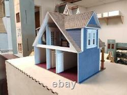124 Scale (half Inch) Miniature Dollhouse Kit-clarkson Craftsman Cottage-979211