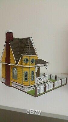 148 1/4 Scale Jasmine 2 Gothic Victorian Cottage Laser Dollhouse Kit 0002084