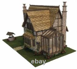 148 1/4 Scale Miniature Storybook Tattington Cottage Dollhouse Kit 0002103