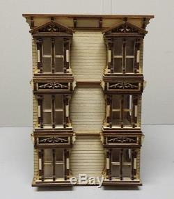 148 or 1/4 Scale Lisa San Francisco Painted Lady Dollhouse Kit 0000393
