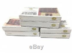 14 NEW X-acto Collectors THE HOUSE OF MINIATURES Dollhouse Furniture-6 Sealed