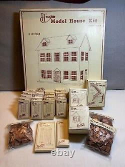 1981 VINTAGE HOUSEWORKS DOLL HOUSE KIT 1/24th scale #H1004 PLUS LOT BRAND NEW