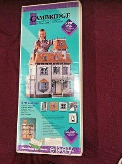 1991 DURA CRAFT Cambridge Mansions In Miniature 9 RM Dollhouse Kit CA 750 NIB