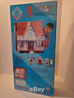 1991 Dura-Craft Wood Doll House Kit Alpine Mansions Miniature Newith Unopened Box