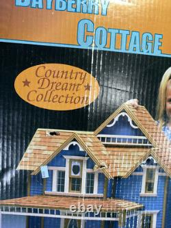 1998 DURA-CRAFT BAYBERRY COTTAGE DOLLHOUSE KIT -County Dream Collection