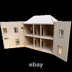 1/12 scale Dolls House Narberth House 4 rooms kit by DHD