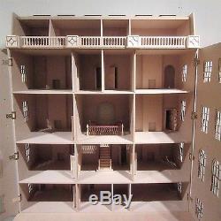 1/12 scale Dolls House The Buckingham Grand House 16 room House Kit