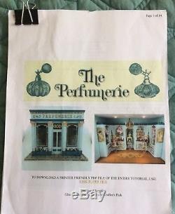 1/4 148 Quarter Scale Dollhouse Kit Cynthia Howe Perfumerie- Retired