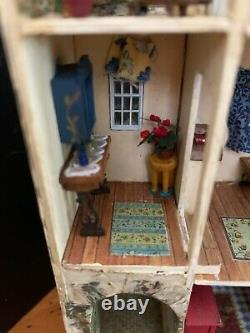 1/4 Scale Arch de Provance House by IGMA Artisan Sue Herber All Rooms Furnish