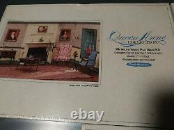 3 Vintage 112 Scale Realife Miniatures Queen Anne Lot Living Dining Bedroom NEW