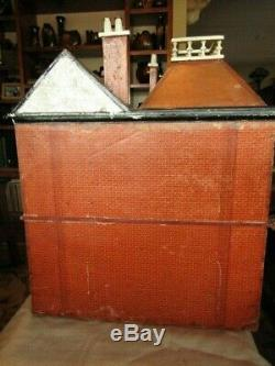 Antique G & J Lines Dollhouse #18 c. 1910 Kit's Coty Series English LARGE 31