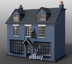 Antique Shop Dolls House 112 Scale Unpainted Dolls House Kit