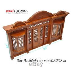 Archduke Quality wooden storefront facade 112 roombox dollhouse miniature WN
