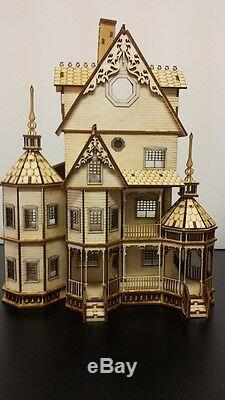 Ashley Gothic Victorian Dollhouse Quarter Inch/ 148 scale Kit