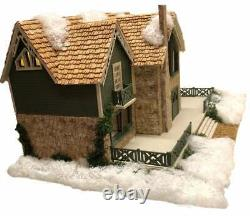 BRAND NEW 1144 SCALE DOLLHOUSE ELIANA'S VACATION HOME COMPLETE KIT with KITCHEN