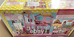 Barbie Doll House (Mattel DLY32) Estate 3 Storey Town House, Brand New