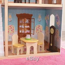 Barbie Dream House Size Mansion Dollhouse Over 4 ft Tall with Furniture 8 Rooms