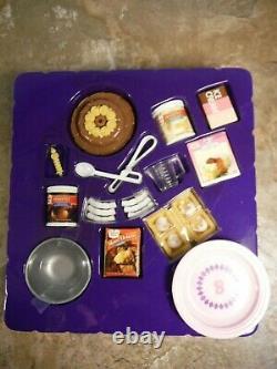 Barbie Fun Fixin Cake Set #67431 New