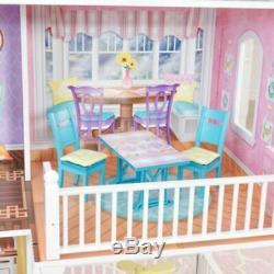 Barbie Size Country Estate Dollhouse Includes 31 Country Fashion Accessories