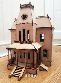 Bates Motel House Psycho Film Laser Cut Model Whole Model Completed Wood