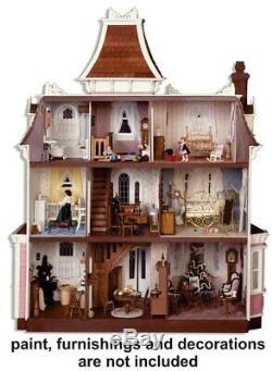 Beacon Hill Dollhouse Kit by Greenleaf Dollhouses