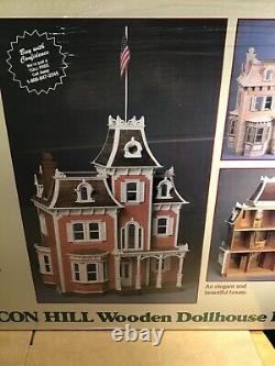 Beacon Hill Dollhouse Kit by Greenleaf Dollhouses Brand New in Sealed Box