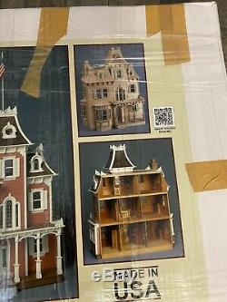 Beacon Hill Dollhouse Kit by Greenleaf Dollhouses Pre Owned