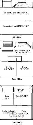 Belton Bay 1 Inch Scale Dollhouse Kit Laser Cut