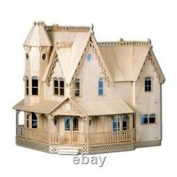 Brand New All Wood Greenleaf Pierce Victorian Dollhouse Kit