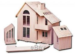 Brookwood Dollhouse Kit by Greenleaf Dollhouses